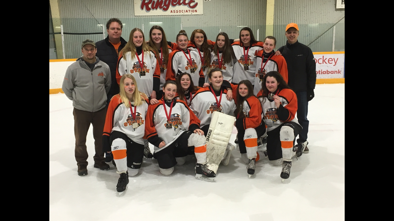 Winnpeg Storm Bantam A1 Orange